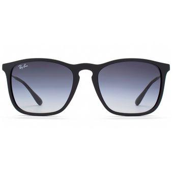RayBan 4187 622/8G Marco Negro / Lente Gris Oscuro Degrade UV400 Italianas