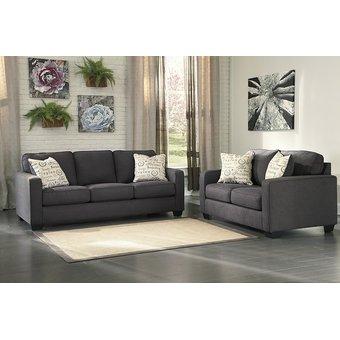 Compra juego de sala decora arcol 3 2 cuerpos plomo for Juego de muebles para sala modernos