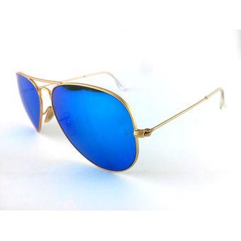 ray ban aviador azul