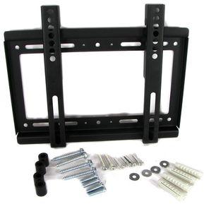 soporte base tv kg montura para pared fija para televisor pulgadas
