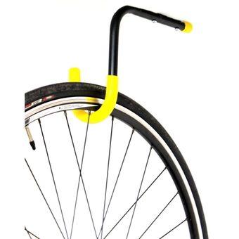 Compra rack sencillo tipo gancho para colgar una bicicleta - Gancho bicicleta pared ...