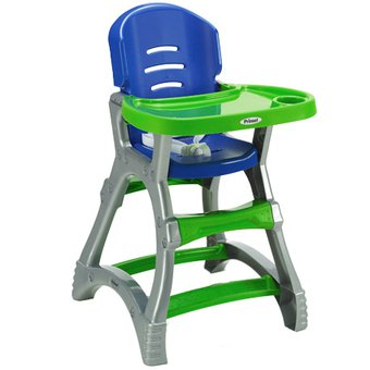 Compra silla prinsel dinner verde con azul online linio - Sillas para lactancia ...