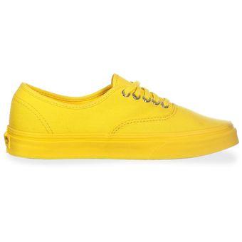 vans mujer zapatillas amarillo