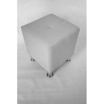 Compra puff cuadrado blanco online linio colombia for Puff cuadrados