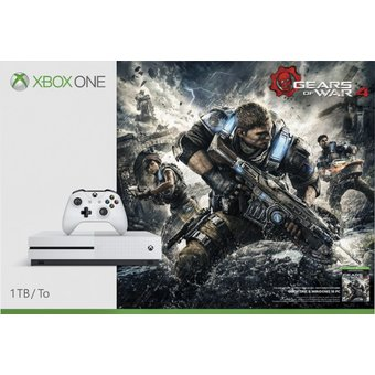 Consola Xbox One S 1TB 1Tera Con Juego Gears Of War 4 Digital