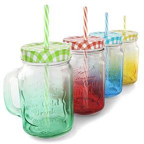 pack de jarros de vidrio ice cold drin