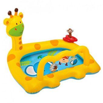 Compra piscina gimnasio inflable para bebe jirafa intex for Gimnasio con piscina fuenlabrada