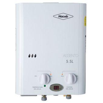 Calentador Haceb De Paso 5 Litros Gas Natural Automático