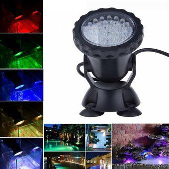 Compra 36 led rgb luz de luz subacu tica para el agua for Luz ultravioleta para estanques