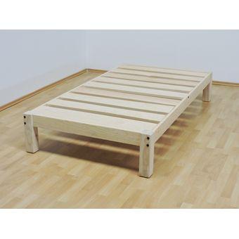 Compra base para cama individual tradicional desarmable for Base cama individual
