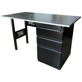 Compra escritorio o estaci n de trabajo met lico base h suministros orion online - Escritorio metalico ...