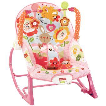 silla vibradora mecedora para bebe fishe