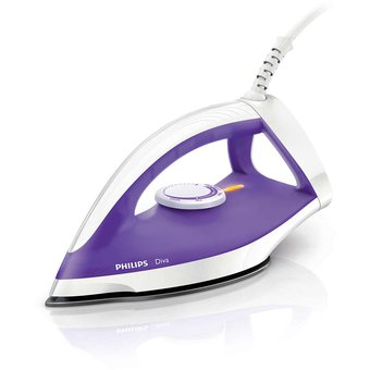 Plancha En Seco Philips Diva Gc122 Base Anti-Adherente