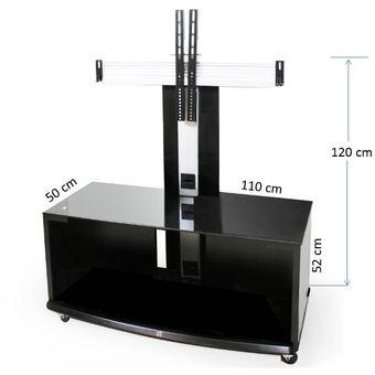 Compra a i media stand mueble para pantalla plana de hasta - Muebles para televisiones planas ...