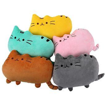 oanda decorativo lindo del gato grande almohada para nios y adultos un sof cama silla