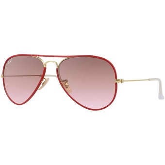 ray ban color rojo