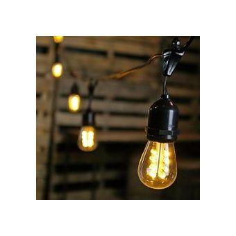 Compra luces en serie para exterior estilo vintage online linio m xico - Tulipas para lamparas de techo ...