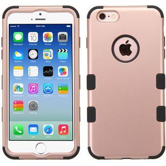 Compra funda doble protector case uso rudo para iphone 6s plus iphone 6 plus rose gold con - Fundas de plastico para tarjetas ...