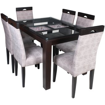 Compra juego de comedor francia 6 sillas online linio per for Juego de comedor lima