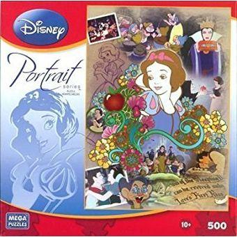 Juguete Disney Princesa Blancanieves Retrato Serie 500 Pieza Del Rompecabezas
