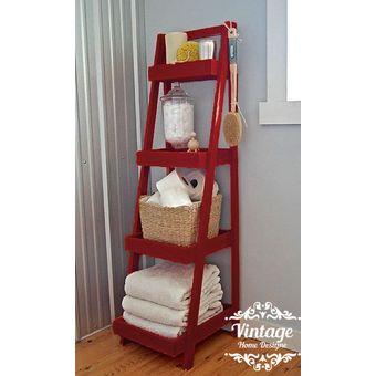 estante tipo escalera vintage home designe touse abatible con repisas ajustables y movibles