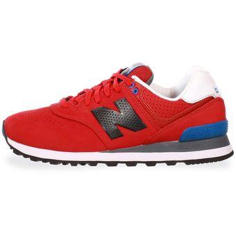 new balance roja hombre