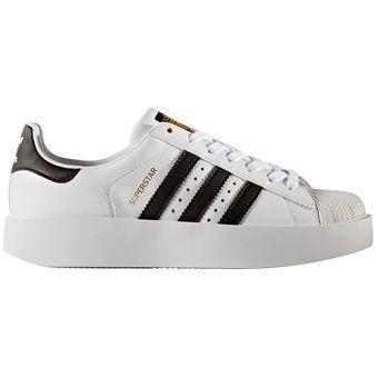 adidas superstar negra y blanca