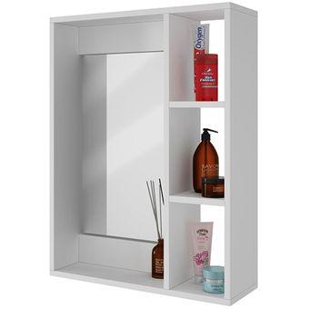 Espejos Baño Online   Compra Gabinete Para Pared De Bano Con Espejo Y Repisas Online