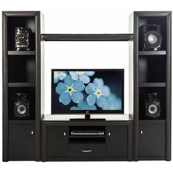 Compra mueble para tv volga color chocolate online linio for Muebles para smart tv 55