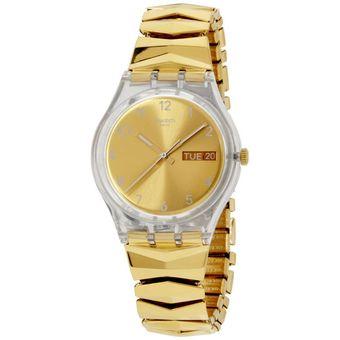 reloj swatch gold brunnen geb para damadorado
