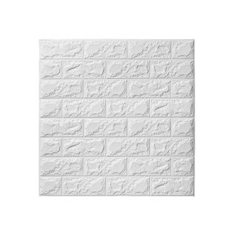 Compra 3d pared de ladrillo pegatinas adhesivo pared panel - Papel pared autoadhesivo ...