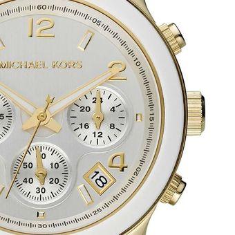 bf08f1c7e45e michael kors relojes mujer blanco dorado