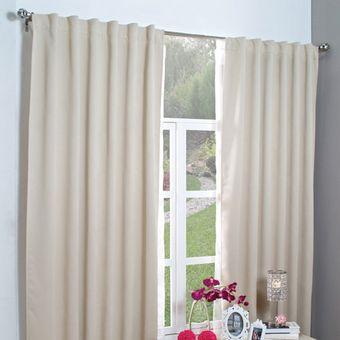 cortinas cortas vianney catania beige beige