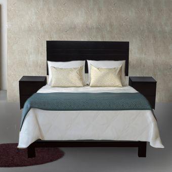 keia juego de dormitorio gotenburgo plazas de piezas colchn de espuma paraso