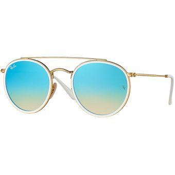lentes ray ban azul degrade