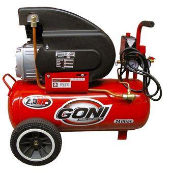 Compra compresor goni 940 lubricado de 24 litros online - Compresor de aire 25 litros ...