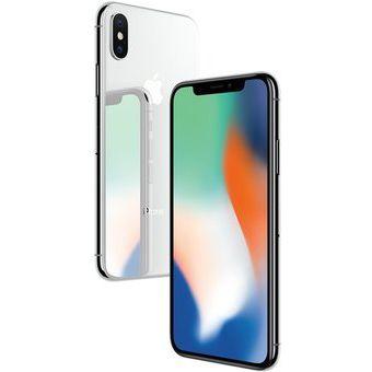 iPhone X  Plata