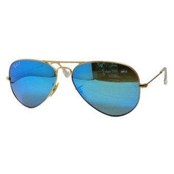 ray ban aviator polarizadas azul