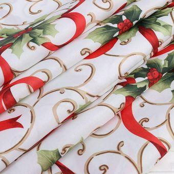 Oanda Manteles De Navidad Cubiertas De Mesa Decoración Decoración De Mesa De Lino Decoración Decoración Navideña