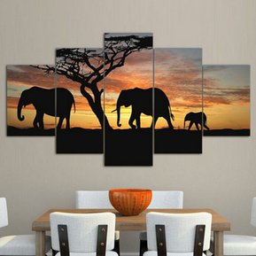 cuadro decorativo pintura sin marco al