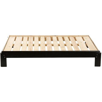 Compra base de cama individual modelo simplex chocolate for Base de cama individual