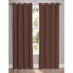 set de cortinas decorativas golden u sel