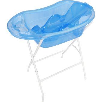 Compra kit ba era para bebe prodehogar azul online for Banera plastico bebe