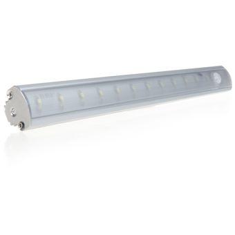 lixada led lmpara de deteccin bajo luz del gabinete con pir sensor de movimiento para cocina