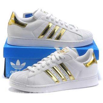 agotado zapatos deportivos adidas superstar blanco
