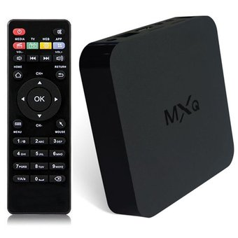 Smart Tv Box Mini Pc Quad Core Android Wifi Hdmi