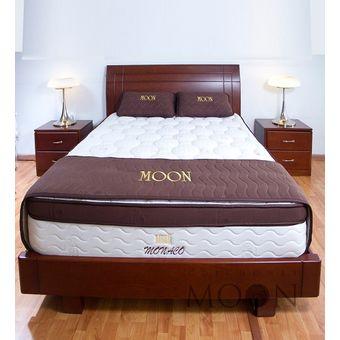 Compra combo colchon monaco doble cama doble deco for Colchon cama doble medidas