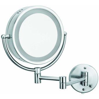 Compra espejo de doble vista con aumento con luz helvex es for Espejo aumento con luz