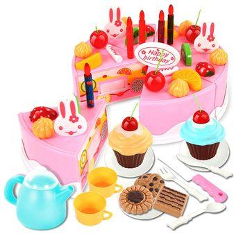 Compra 54pcs pl stico corte juguete 360dsc pastel de for Cumpleanos cocina para ninos