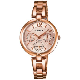 Reloj Casio LTPE401PG-9A